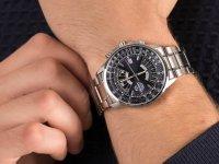 srebrny Zegarek Orient Sports FEU07008DX - duże 6