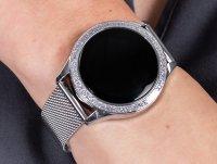 srebrny Zegarek Rubicon Bransoleta RNBE45SIBX05AX - duże 6