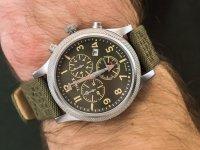 srebrny Zegarek Timex Allied TW2T75800 - duże 6