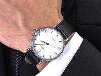 srebrny Zegarek Timex Fairfield TW2R26300 - duże 6
