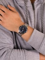 srebrny Zegarek Timex Harborside TW2U13200 - duże 5