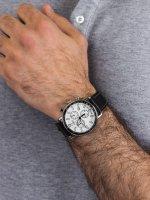 srebrny Zegarek Timex Port TW2U02200 - duże 5