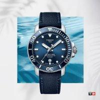 srebrny Zegarek Tissot Seastar 1000 T120.407.17.041.01 - duże 9