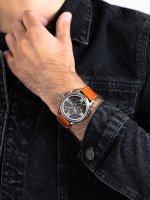 srebrny Zegarek Tommy Hilfiger Męskie 1710336 - duże 5
