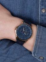 Strand S708GMVLSL Irving klasyczny zegarek różowe złoto