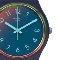 Swatch GN274 zegarek niebieski klasyczny Originals pasek