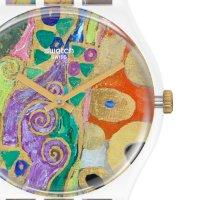 Swatch GZ349 zegarek czarny klasyczny Originals pasek
