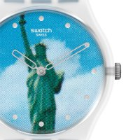 Swatch GZ351 Originals zegarek damski klasyczny akrylowe