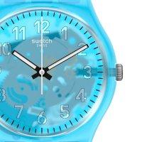 Swatch GZ353 zegarek bezbarwny klasyczny Originals pasek