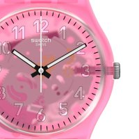 Swatch GZ354 zegarek niebieski klasyczny Originals pasek