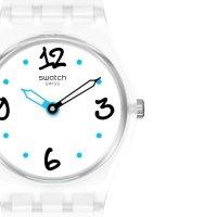 Swatch LW171 zegarek niebieski klasyczny Originals Lady pasek