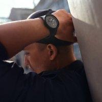 Swatch SB03B100 C-BLACK zegarek fashion/modowy Big Bold