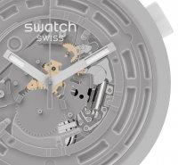 Swatch SB03M100 zegarek czarny fashion/modowy Big Bold pasek