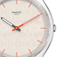 Swatch SS07S113GG zegarek czarny klasyczny Skin pasek