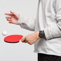 Swatch SUOB183 zegarek czarny fashion/modowy Originals pasek