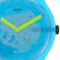 Swatch SUOS112 zegarek czarny fashion/modowy Originals pasek