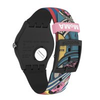 Swatch SUOZ334 męski zegarek Originals pasek