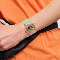 Swatch SVIK103-5300 zegarek bezbarwny klasyczny Originals New Gent pasek