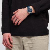 Swatch YVS478 zegarek srebrny fashion/modowy Irony pasek