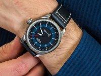 SWISS MADE - szwajcarskie Zegarek Davosa Pilot 162.501.55 - duże 6
