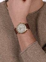 Timex TW2P96700 zegarek złoty fashion/modowy Originals pasek