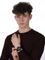 Timex TW2R65800 zegarek czarny klasyczny Classic pasek