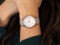 Timex TW2R96200 zegarek różowe złoto klasyczny Metropolitan pasek