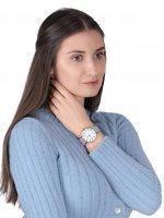 Timex TW2T45400 Transcend Transcend fashion/modowy zegarek różowe złoto