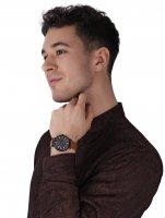 Timex TW2T73500 zegarek czarny klasyczny Weekender pasek