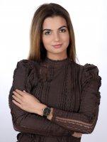 Timex TW2T87600 zegarek damski Celestial Opulence różowe złoto