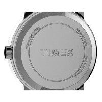 Timex TW2U07900 zegarek złoty klasyczny Easy Reader bransoleta