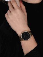 Timex TW2U36400 zegarek złoty klasyczny Transcend bransoleta