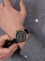 Timex TW2U39100 Chicago Chicago Chronograph 45mm zegarek męski fashion/modowy mineralne