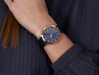 Timex TW2U41100 zegarek złoty klasyczny Celestial Opulence pasek