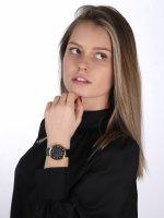 Timex TW2U41200 zegarek złoty klasyczny Celestial Opulence pasek