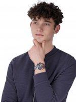 Timex TW2U71900 Harborside Harborside Coast 43mm zegarek męski klasyczny mineralne