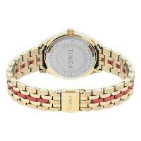 Timex TW2U82700 zegarek złoty klasyczny Waterbury bransoleta