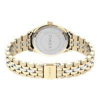 Timex TW2U82900 zegarek różowe złoto klasyczny Waterbury bransoleta