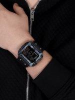 Timex TW5M18200 zegarek czarny sportowy Command pasek