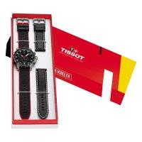 Tissot T125.617.17.051.01 Supersport Chrono sportowy zegarek srebrny