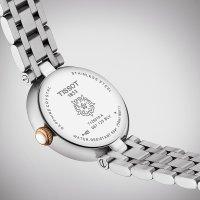 Tissot T126.010.22.013.01 zegarek różowe złoto klasyczny Bellissima pasek