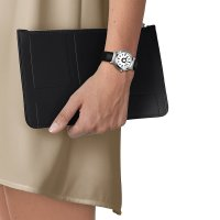Tissot T134.210.17.011.00 zegarek srebrny klasyczny Heritage pasek