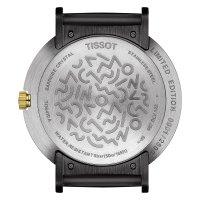 Tissot T134.410.27.011.00 zegarek srebrny klasyczny Heritage pasek