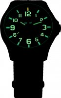 Traser TS-107426 P67 Officer Pro P67 Officer Pro GunMetal Black/Lime zegarek męski klasyczny szafirowe
