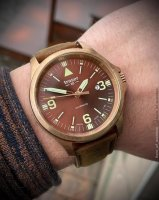 Traser TS-108073 zegarek męski P67 Officer Pro Automatic brązowy