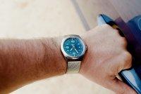 Traser TS-108205 zegarek srebrny klasyczny P59 Classic bransoleta
