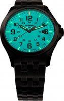 Traser TS-108740 P67 Officer Pro GunMetal SkyBlue P67 Officer Pro klasyczny zegarek czarny