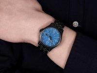 Traser TS-108740 zegarek czarny klasyczny P67 Officer Pro bransoleta