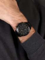 Traser TS-109466 zegarek czarny wojskowy P67 Officer Pro Chronograph bransoleta