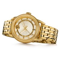 Versace VEPO00420 zegarek złoty klasyczny CODE pasek